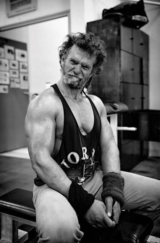 Jacques Sayagh, homeless bodybuilder