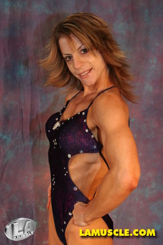 La Muscle Angie Ward Photoshoot