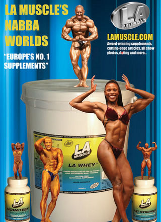 NABBA World Championships, Sponsored by LA Muscle