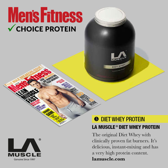 Choice protein: Men's Fitness Magazine