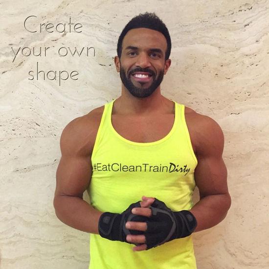 Craig David bodybuilding