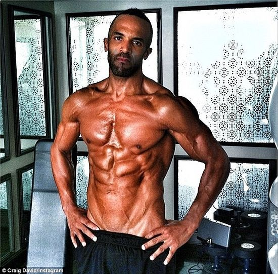Craig David as he was: super-ripped