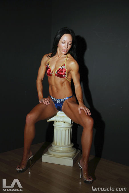 FAME 2011 Fitness bikini winner, the stunning Emma Louise