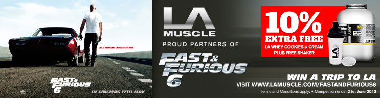 LA Muscle, Proud Partners of Fast & Furious 6