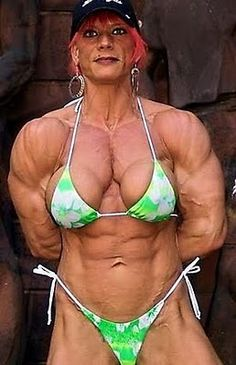 Hairy Female Bodybuilder 99