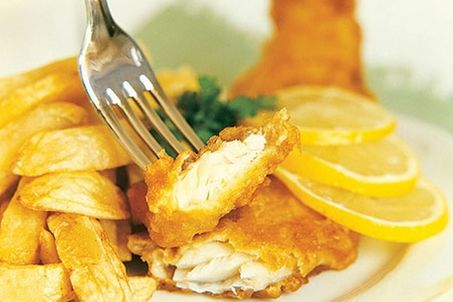 Muscle Building Fish & Chips