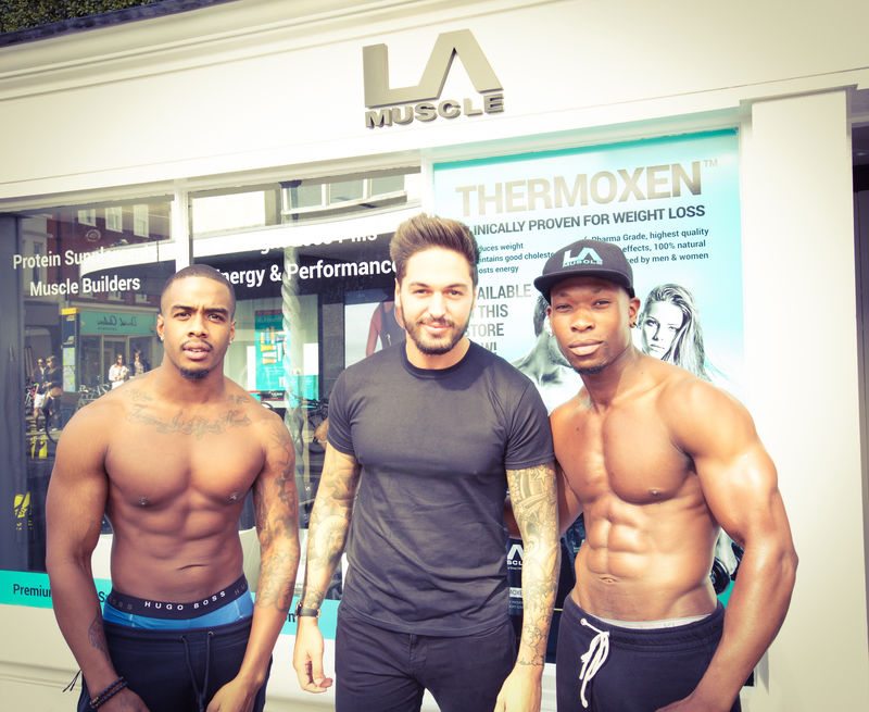 TV Star Mario Falcone at the LA Muscle Shop Richmond