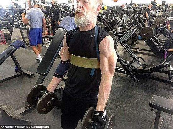 JK Simmons RIPPED