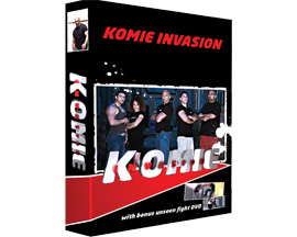 Komie Invasion DVD