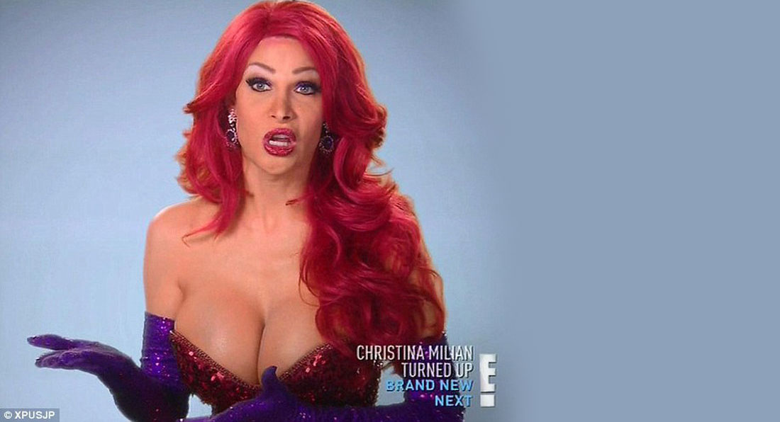Man spends $200k to look like Jessica Rabbit
