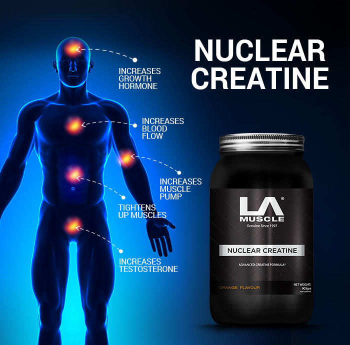 Get stronger with Nuclear Creatine