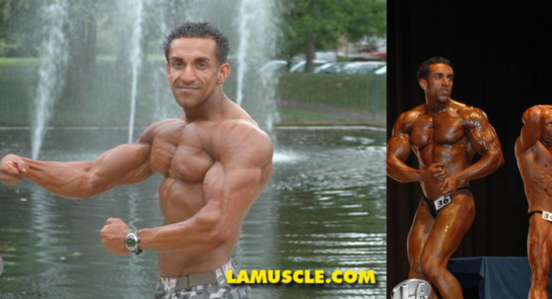 "LA Muscle's ""Sword"" Runner Up at UKBFF South East 2008"