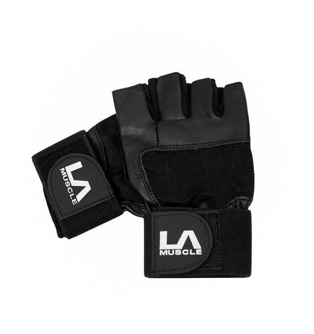 Gloves - White Leather MEDIUM