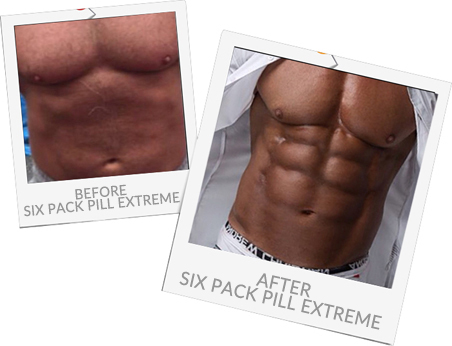 John Clarke Before and After Six Pack Pill Extreme