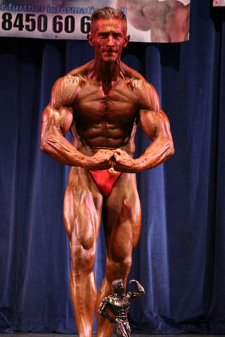 Kevin Skelland, NPA 2005 Heavyweight winner