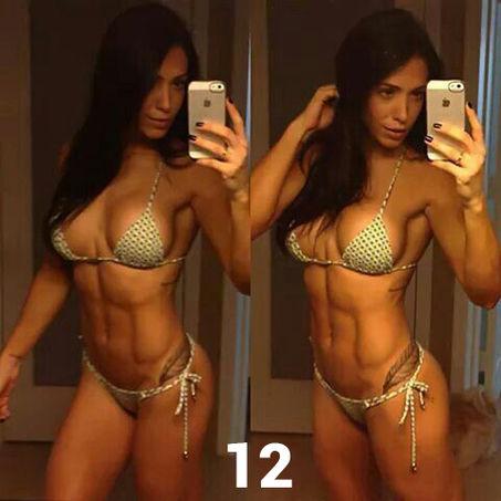 Femmes athltiques nues et salopes fitness Photos et vidos