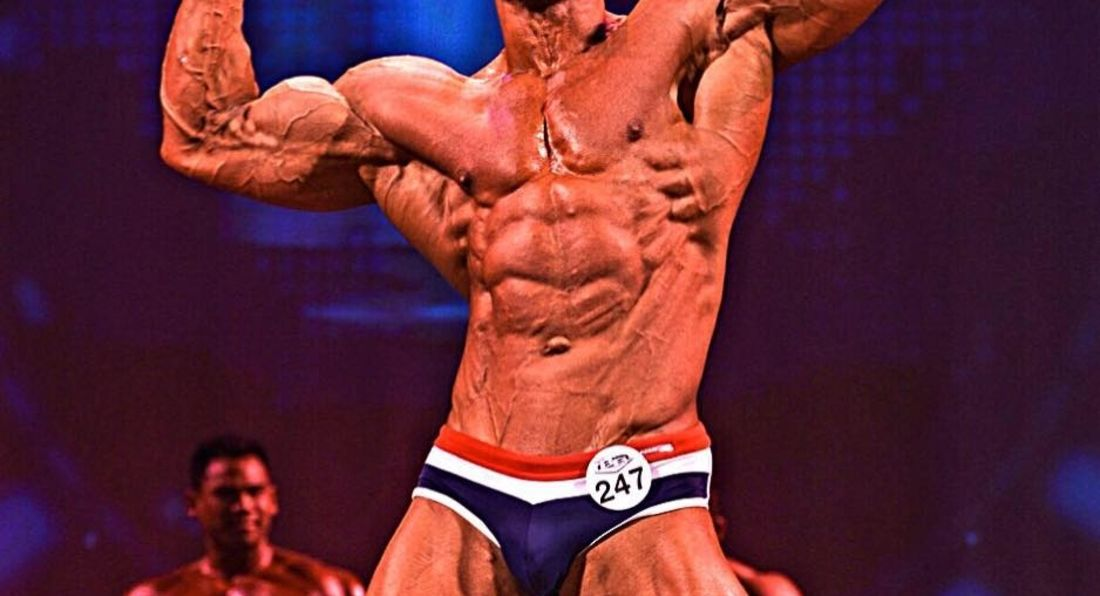 LA Muscle Athlete Neil Anderson runner up at WBFF Champs.