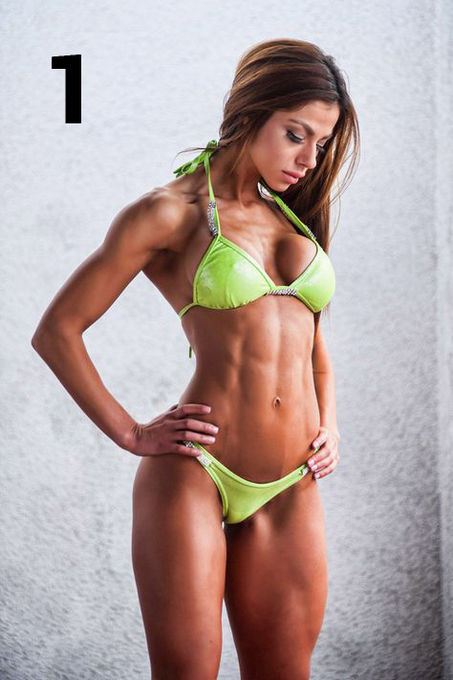 The Votes Are In For The Top 25 Sexy Hard Bodied Muscular Women Check Them Out