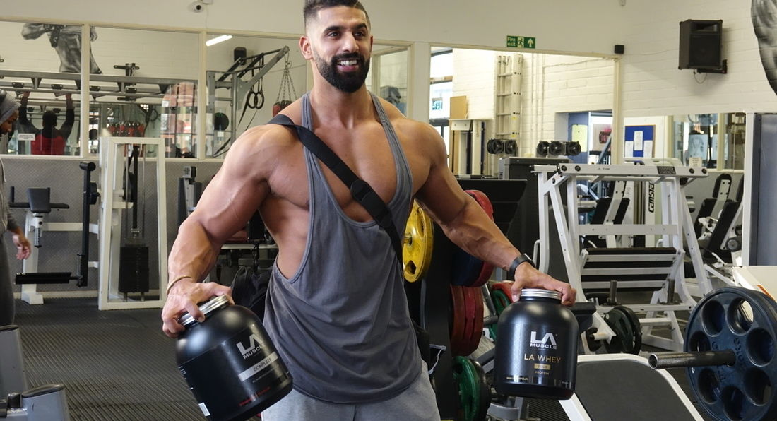 Ahmed Rabos Mr Universe In Training