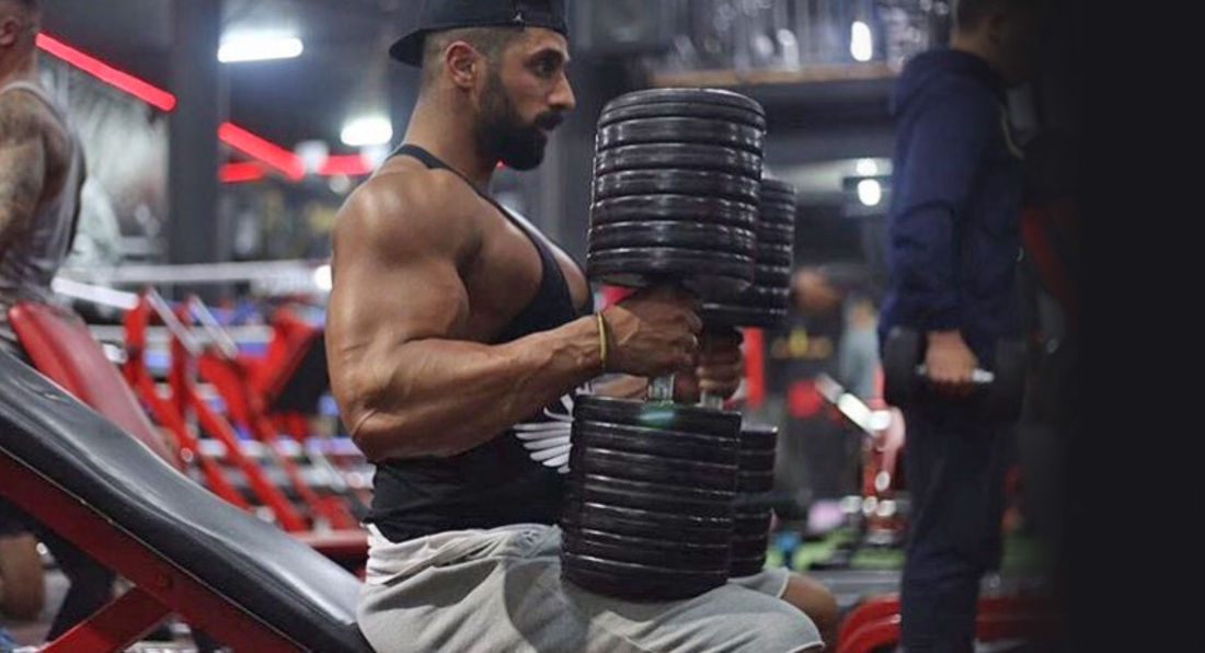 Train Like Mr Universe Ahmed Rabos