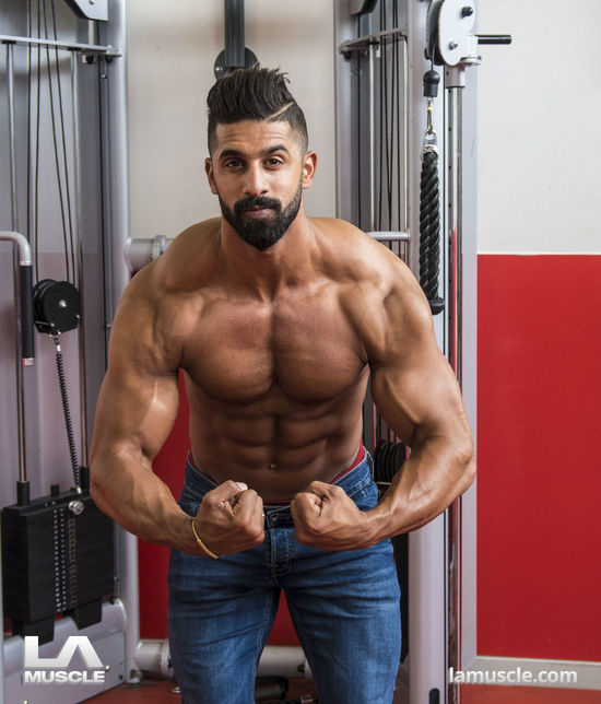 Mr Universe Ahmed Rabos