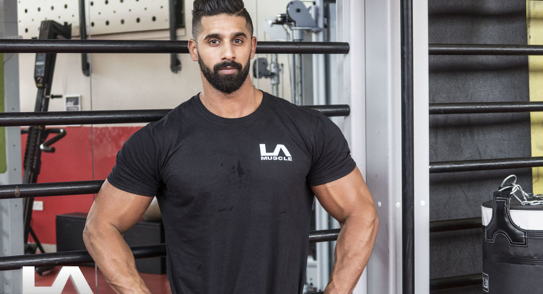 LA Muscle Welcomes Mr Universe Ahmed Rabos