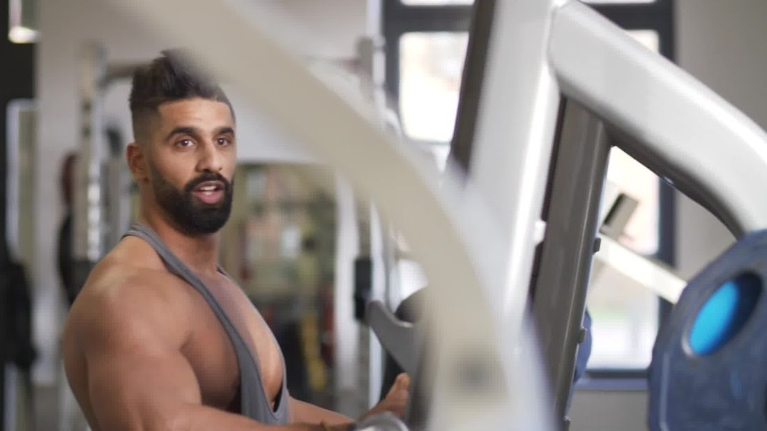 INTENSE shoulder and arm workout with Ahmed Rabos