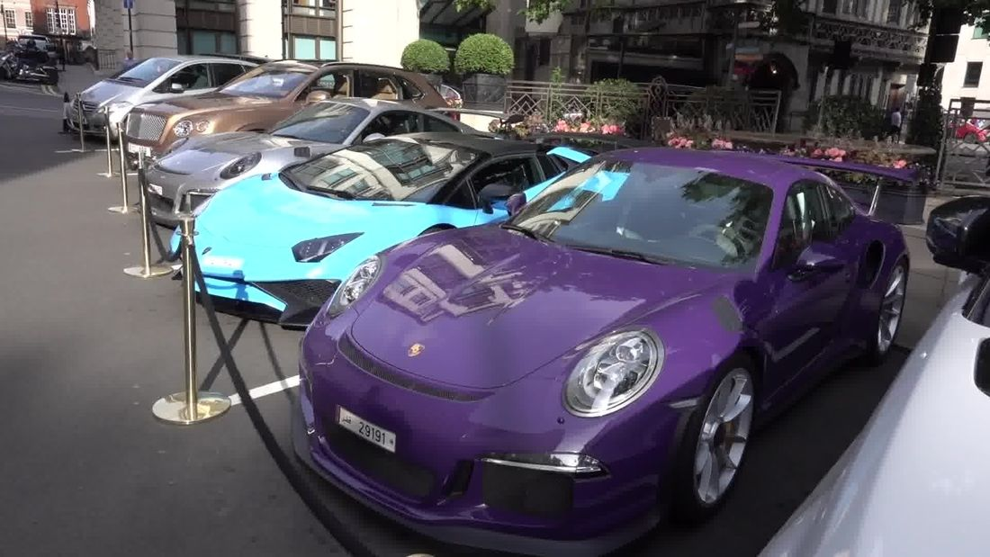 The Arab Supercar Invasion of London 2017