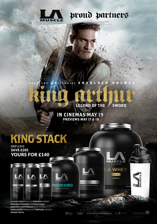 King Arthur Stack