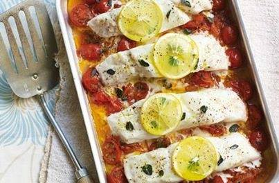 High Protein Baked Fish