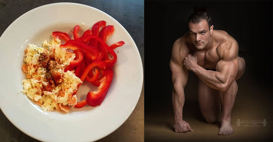 Muscle Model Alistair Richardson's Recipe