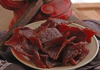 Muscle building beef jerky