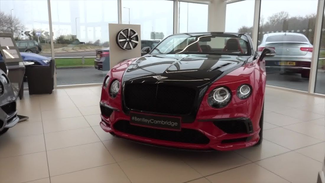 New Bentley Showroom - Exclusive LA Muscle TV