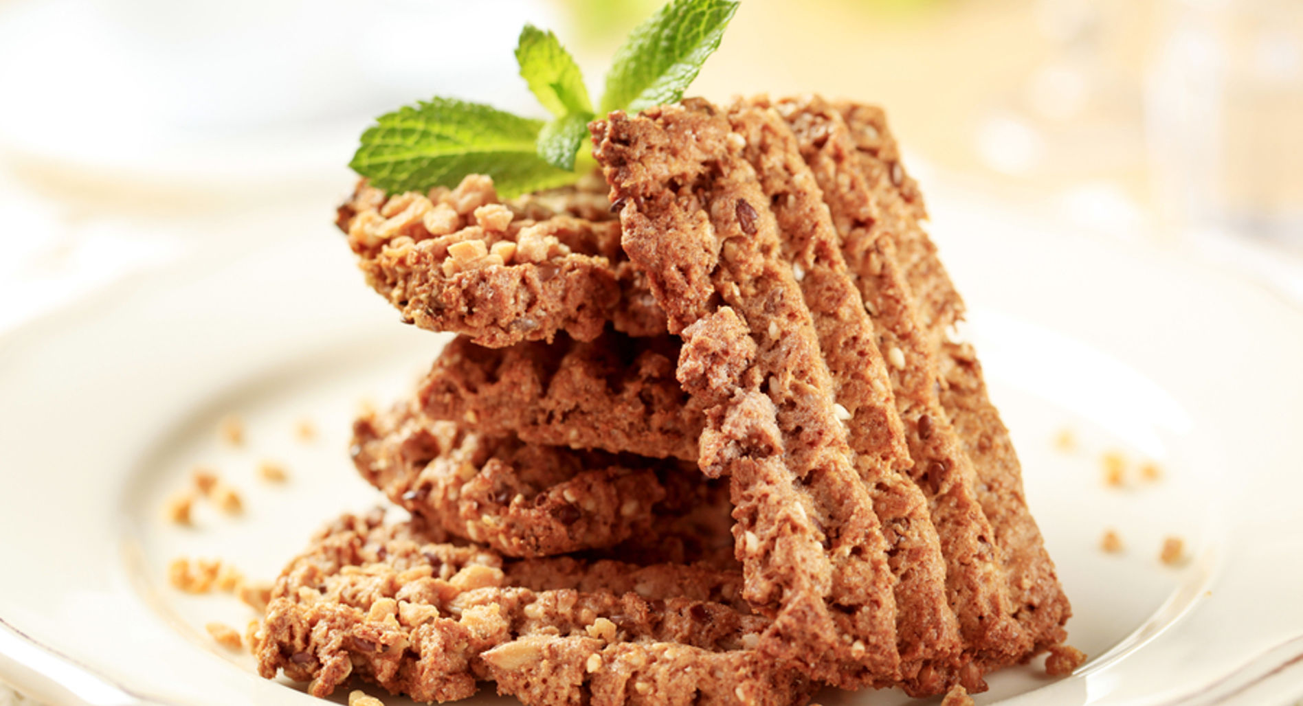 Gingerbread Protein Oatmeal Bake