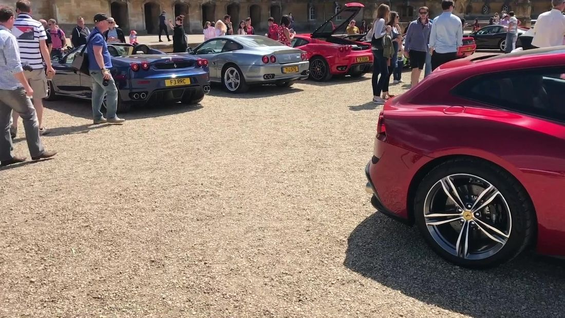 Salon Prive Cars & Coffee & Blenheim Palace 2017 ALL the supercars