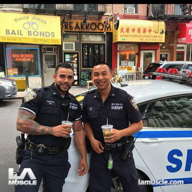Miguel Primentel, the baddest cop in the USA! Bodybuilder