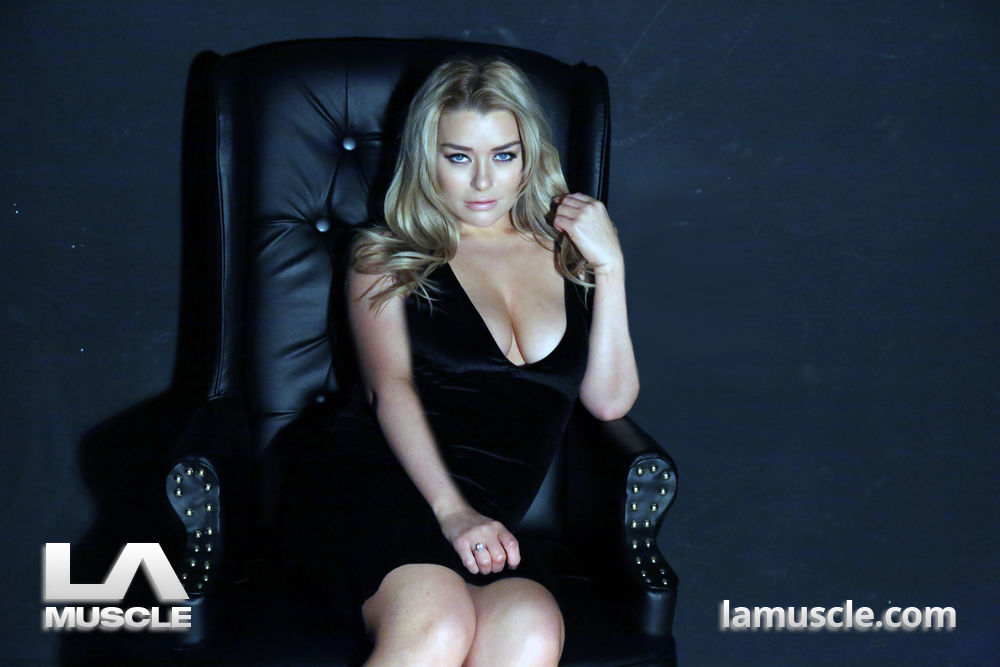 BRANDY BREWER is a well-known sports presenter and part time glamour model. She came down to LA Muscle for an exclusive photoshoot, LA Muscle Style! Enjoy!