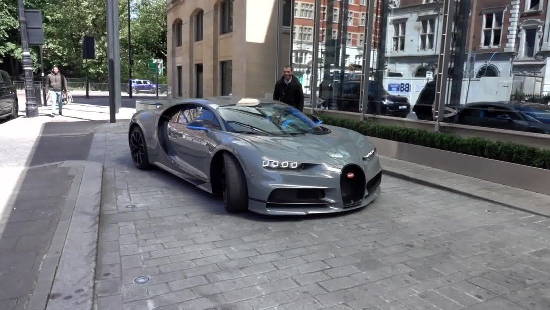 INSANE Bugatti Chiron in London