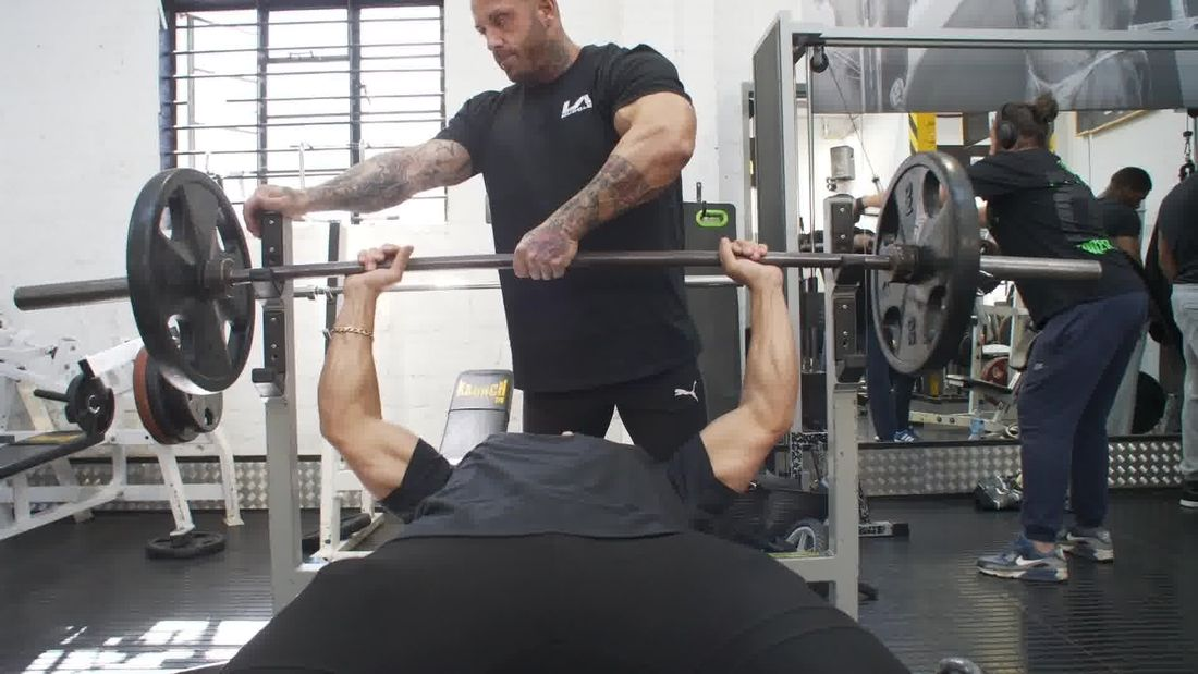 How to do a proper chest press without getting injured or looking silly
