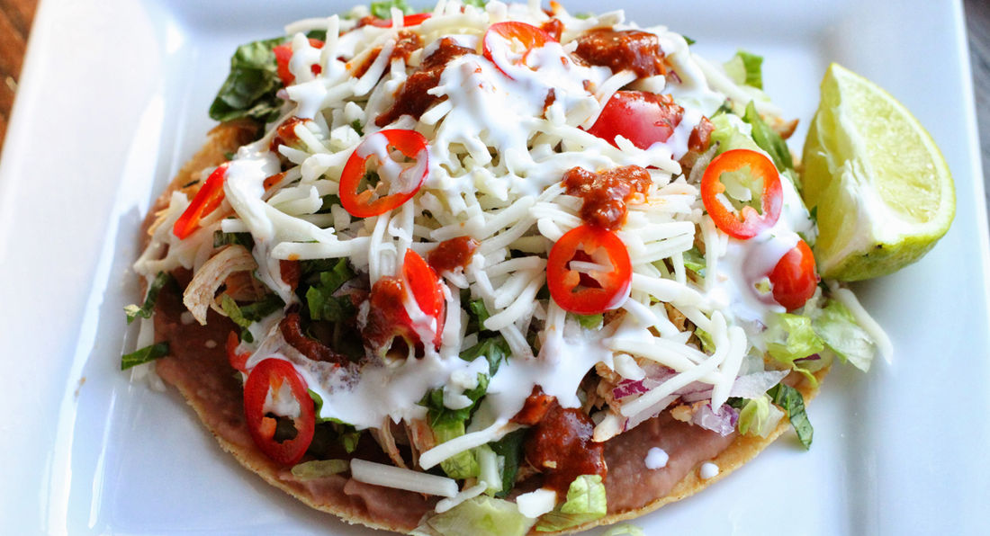 Chicken & Mozzarella Tostadas