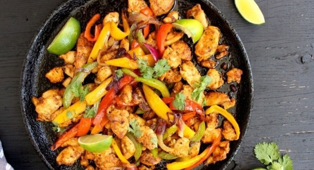 Chicken Fajitas With Mango Salsa