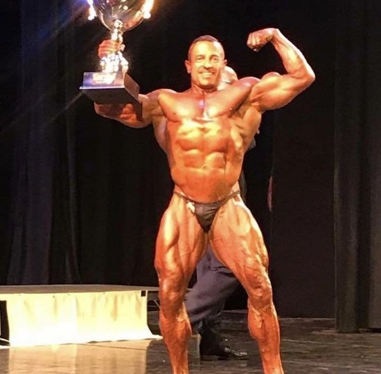 Bodybuilder Chris Jones