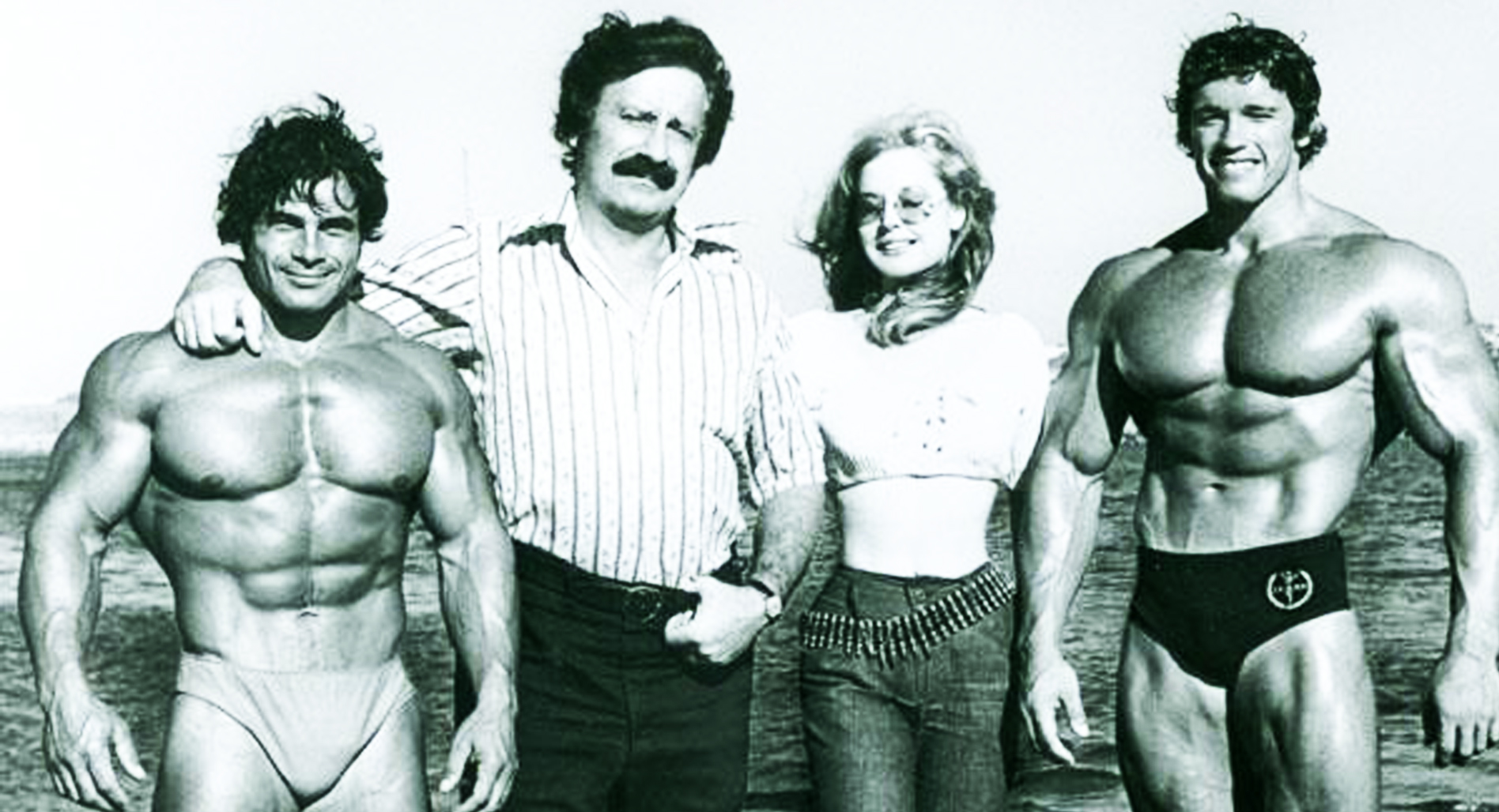 Classic forgotten photos: Muscle Beach
