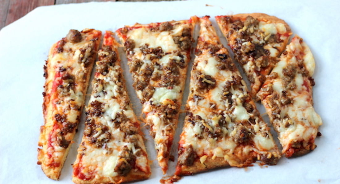 Low Calorie Protein Pizza