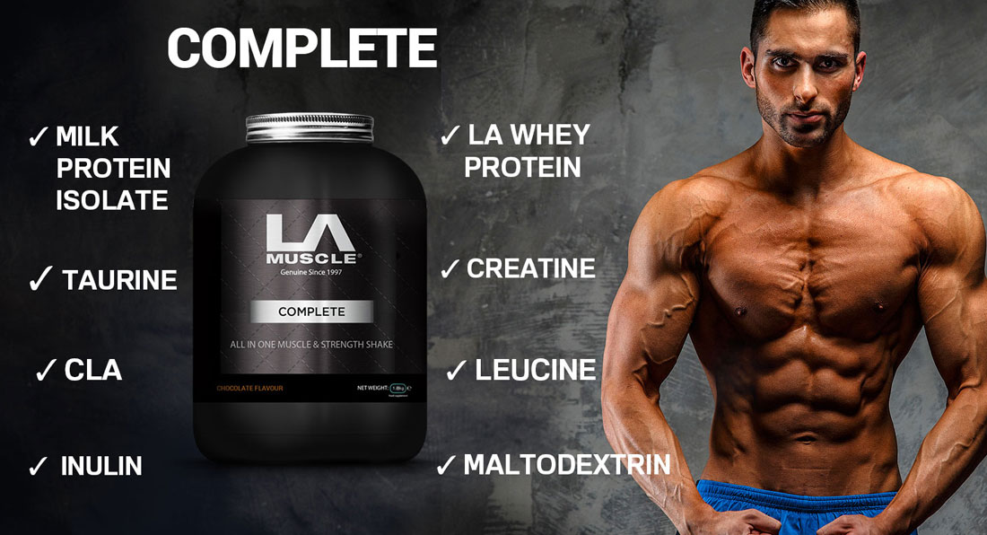 A Revealing Diary of a Customer Taking LA Muscle Komplete