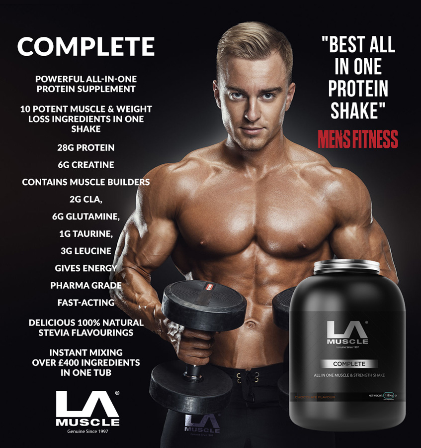 Complete all-in-one protein shake