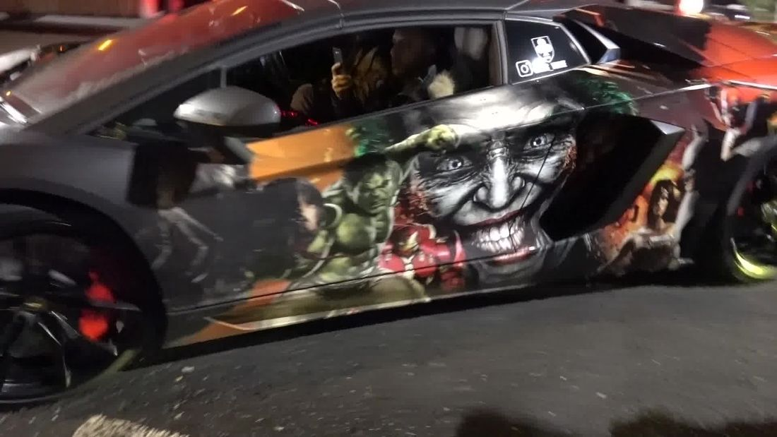 CRAZY Lamborghini Car Meet in London