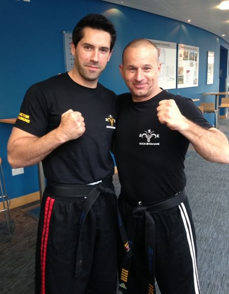 Dave and Scott Adkins