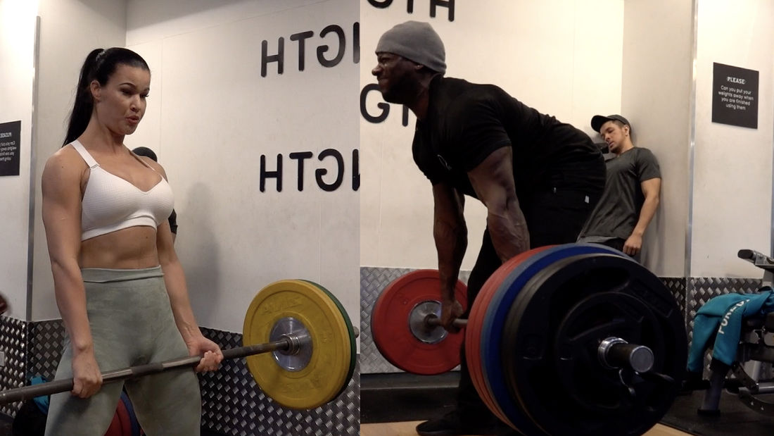 Squat & Deadlift Challenge gets COMPETITIVE!