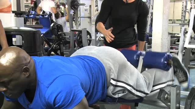 Dean & Eddie Hamstrings Workout